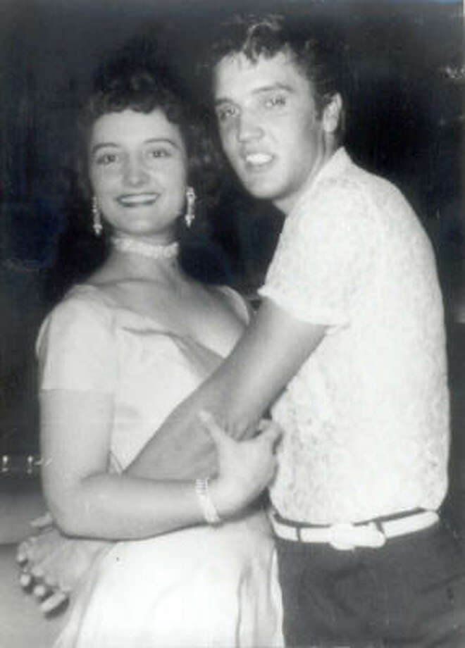 Shirley Delgado dated Elvis Presley about 50 years ago during the singer's early career. Photo: Family Photo