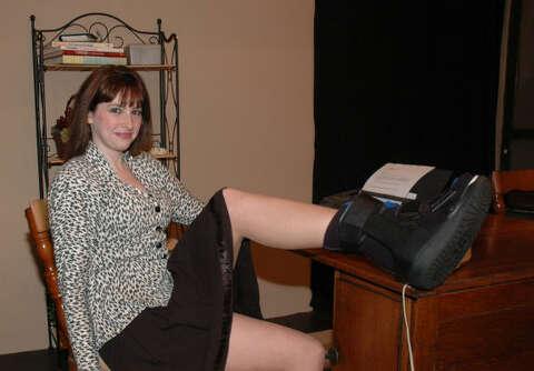 Richmond actress has enough of 'break a leg' jokes (w/photos
