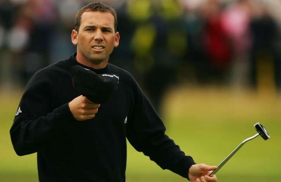 Sergio Garcia held steady at 6-under after an even-par 71 in the second round. Photo: Warren Little, Getty Images