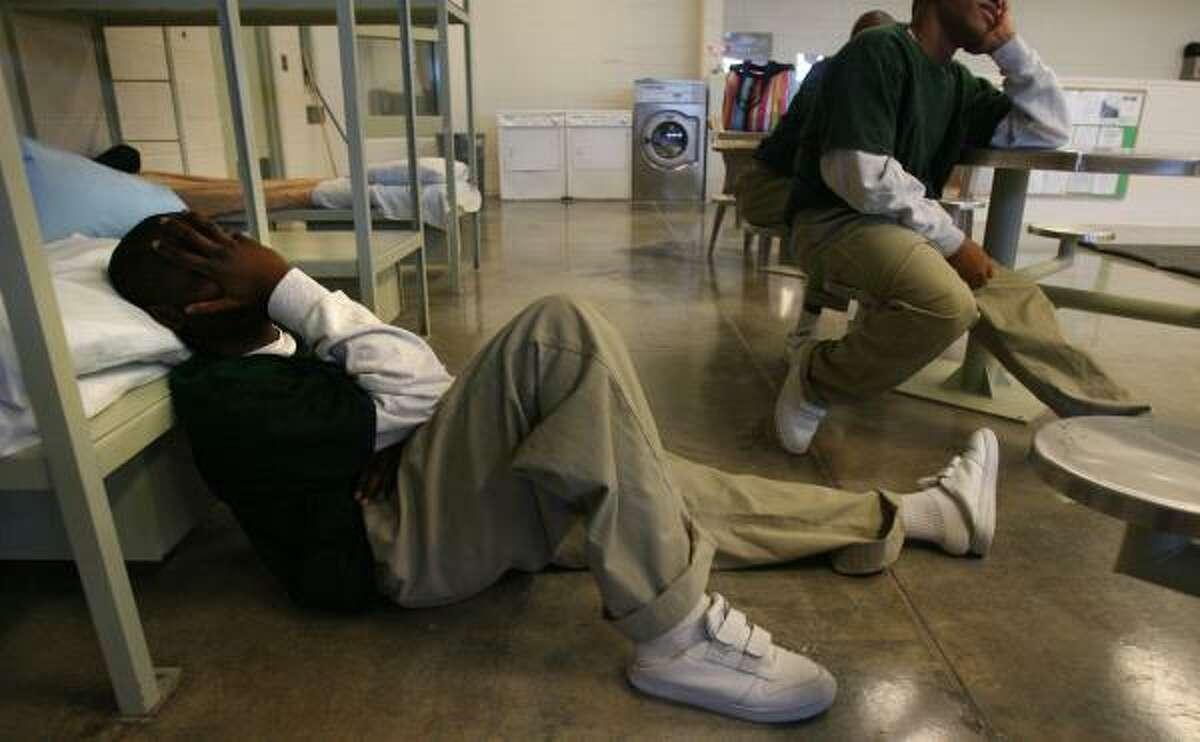 Juvenile detention.