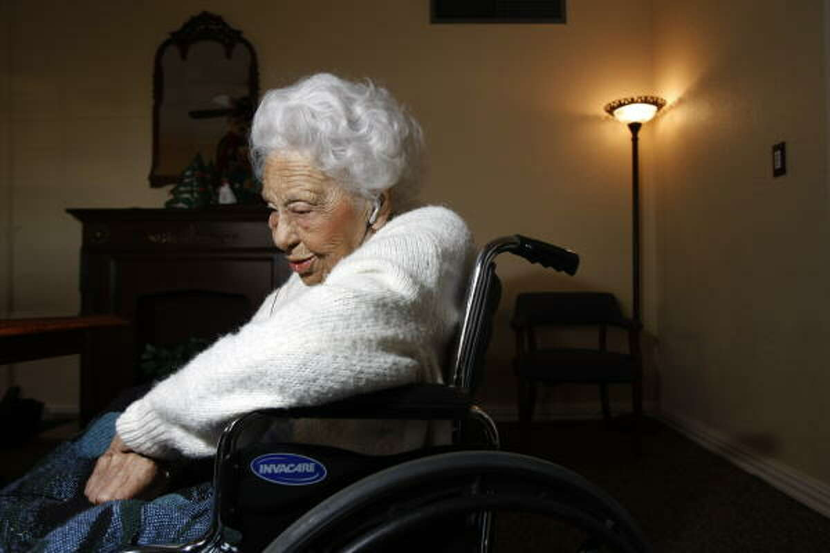 Henrietta Bell Wells, a retired social worker living in Houston, was the Wiley College debate team's only female member.