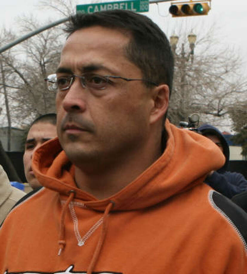 Former U.S. Border Patrol agent Ignacio Ramos was beaten by inmates last weekend at the Mississippi prison where he is incarcerated. Photo: Ruben R Ramirez, El Paso Times File