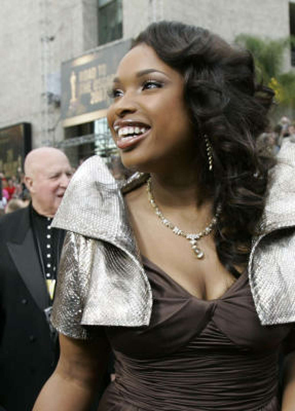 Jennifer Hudson won the supporting-actress Oscar for her work in Dreamgirls.