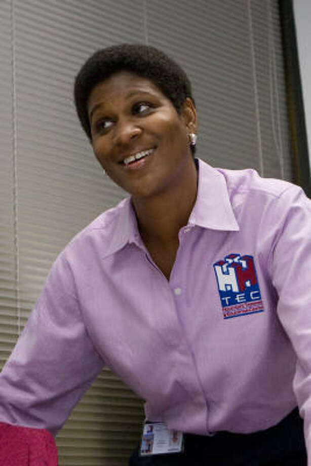 Stephanie Boutté-Phillips is founder and head of Houston's Training and Education Center. She recently was nominated for the 2007 African American Business Achievement Pinnacle Award. Photo: R. Clayton McKee, For The Chronicle