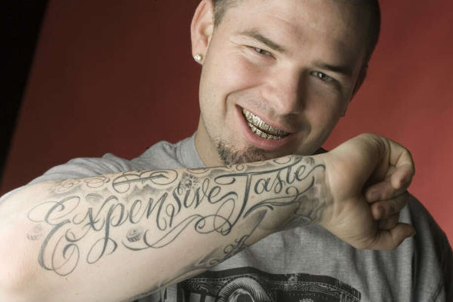 """Expensive Taste"" is the name of Paul Wall's band and a motto for its lifestyle. Photo: Billy Smith II, CHRONICLE"