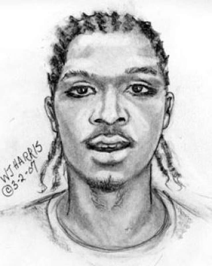 Sketch of man found dead near a Dumpster on Old Richmond Road in Sugar Land on Friday morning. Photo: Fort Bend County Sheriff's Office