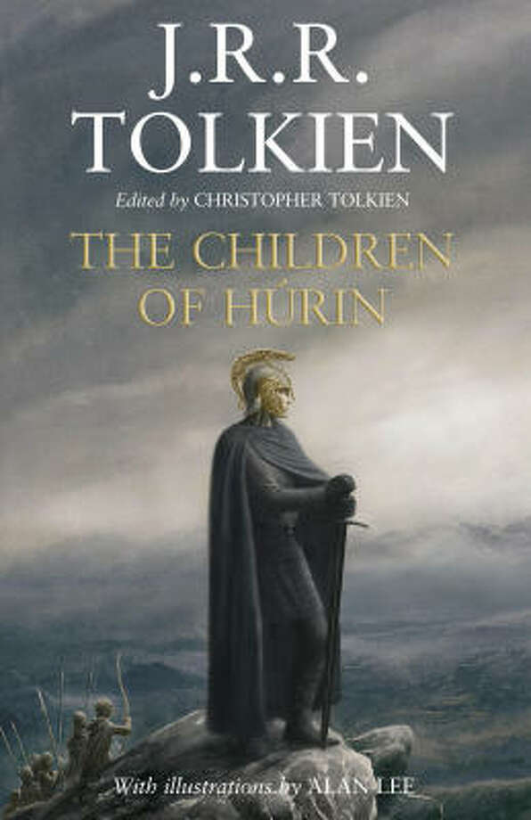 The cover of J.R.R. Tolkien's The Children of Hurin. Photo: Associated Press/Houghton Mifflin