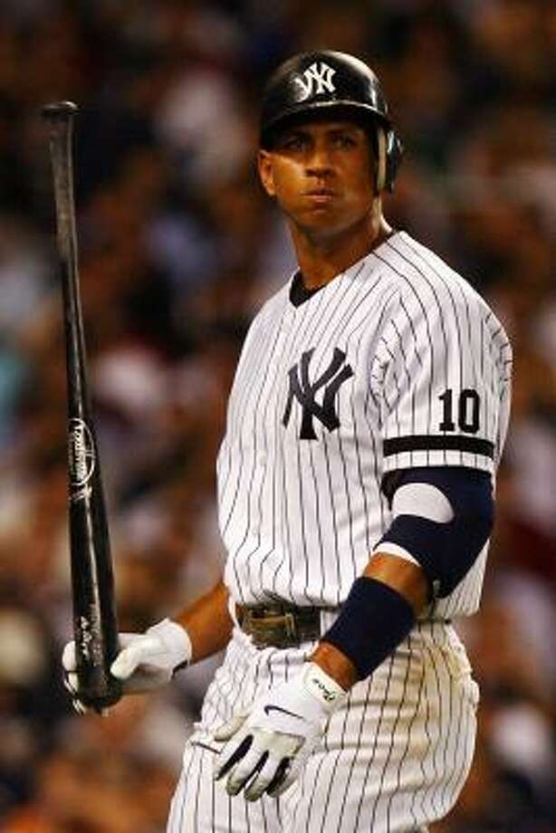 Alex Rodriguez could be opting out of his contract to seek more money on the open market. Photo: Al Bello, Getty Images