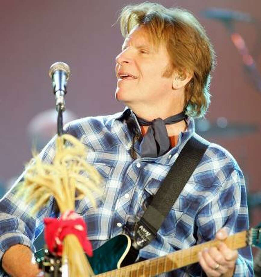 Singer/songwriter John Fogerty performs at the Joint inside the Hard Rock Hotel & Casino in Las Vegas as he tours in support of his new album, Revival. Photo: Ethan Miller, GETTY IMAGES