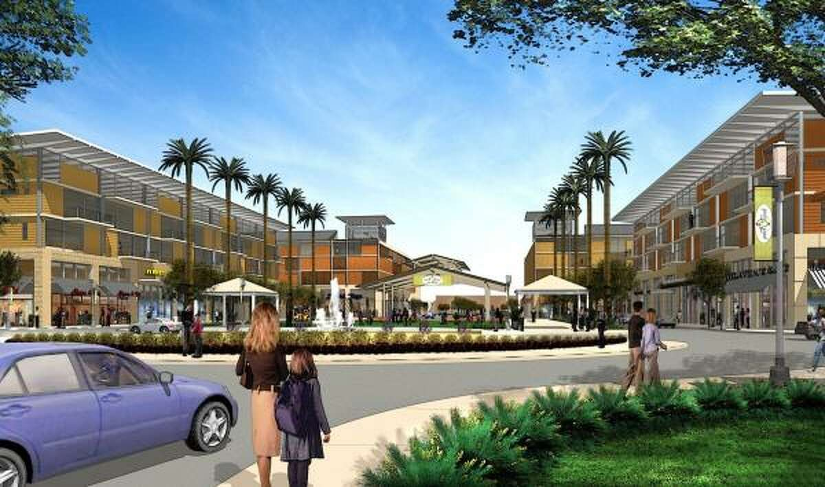 The Pearland Town Center, developed by CBL & Associates Properties, is scheduled to open in fall 2008.