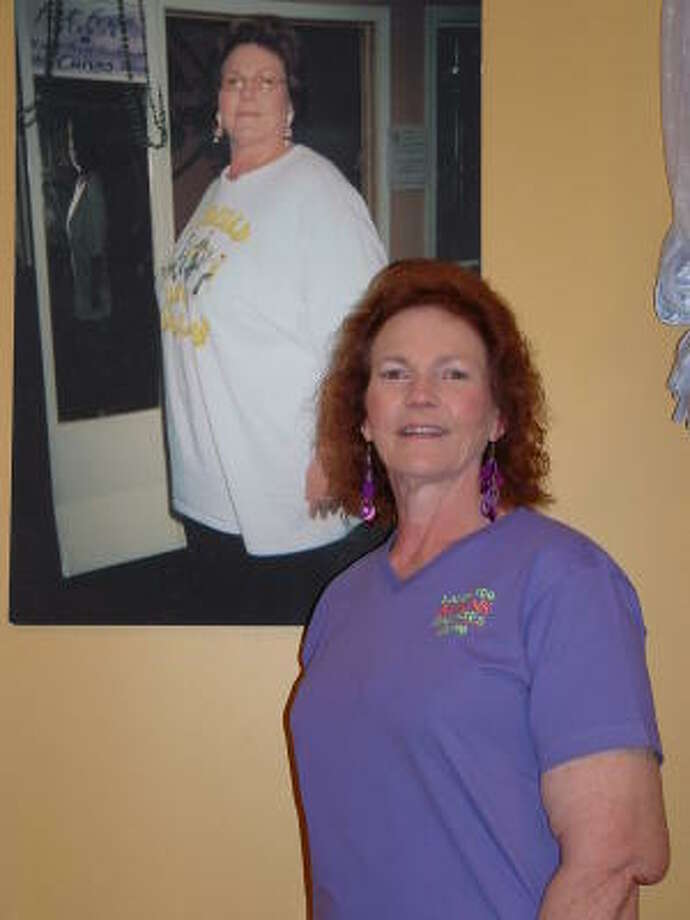 Alice Freeland once weighed more than 300 pounds. She now operates an exercise studio.