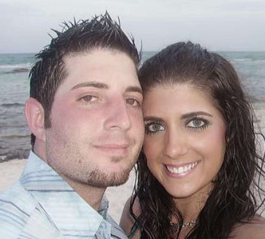 Bobby Walenta, 26, proposed to his girlfriend, Jackie Sattell, 23, in a commercial that aired Wednesday during her favorite TV show, One Tree Hill. Photo: Courtesy Photo