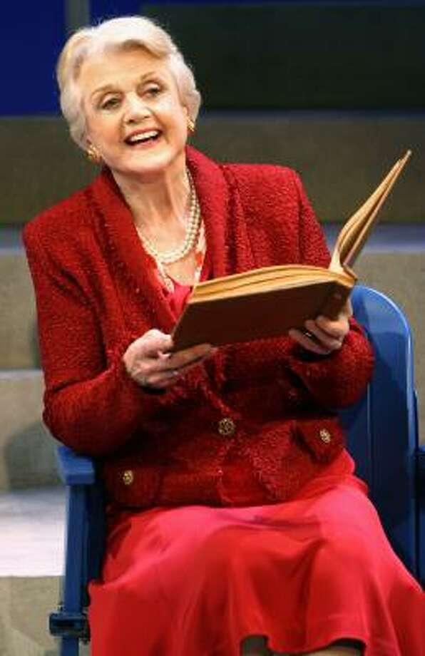 Angela Lansbury exudes undiminished presence and verve as she returns to Broadway in Deuce. Photo: Joan Marcus