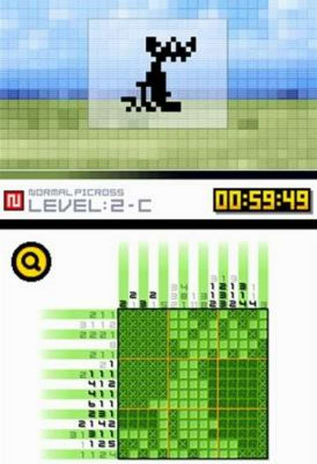 Picross DS is designed for players age 8 and up. Photo: NINTENDO