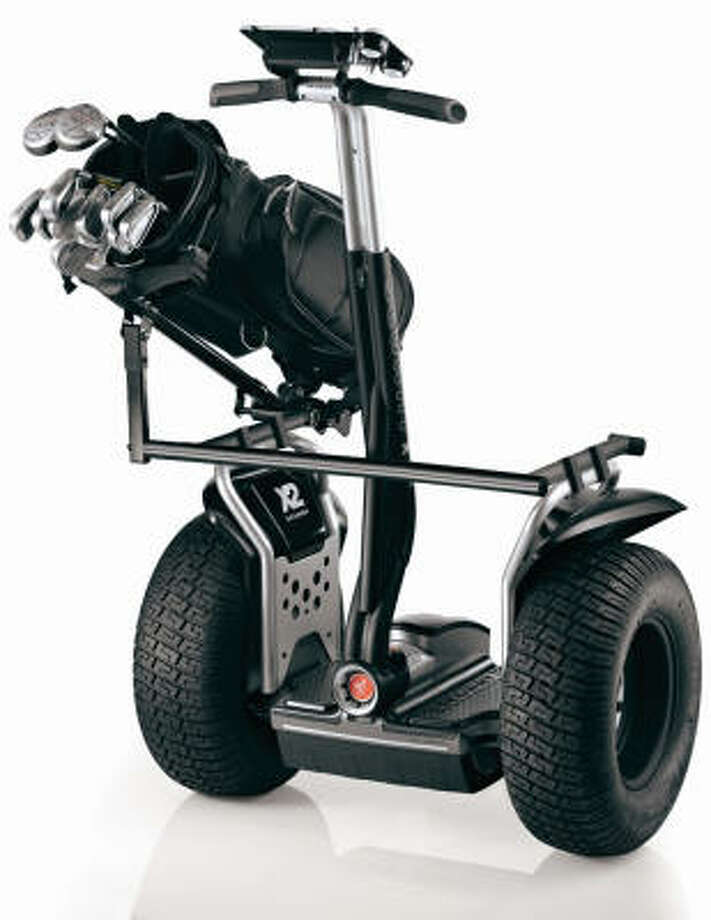 The second generation of Segway's golf cart-transporter costs $6,175. Photo: Segway