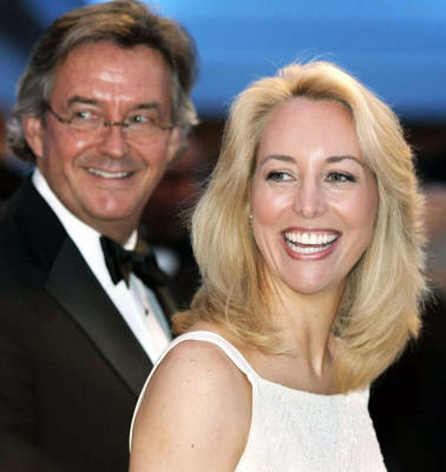 More than a year after Valerie Plame was forced to leave the CIA, she and her husband, former Ambassador Joseph Wilson, are living a new, lucrative life with a movie and a book in the works. Photo: Haraz N. Ghanbari, AP