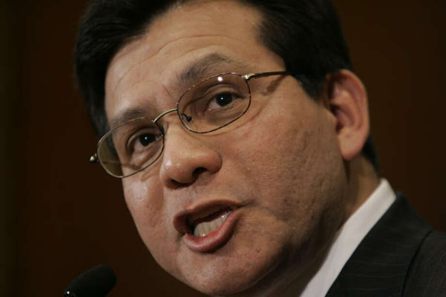 Documents released Friday night reveal that Attorney General Alberto Gonzales met with senior aides on Nov. 27 to review a plan to fire a group of U.S. attorneys. Photo: Gerald Herbert, AP File