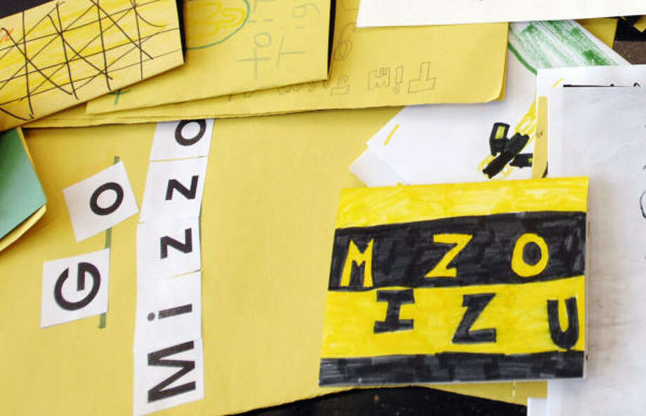 The Missouri team saw notes from well-wishers in its locker room. Photo: L.G. Patterson, AP