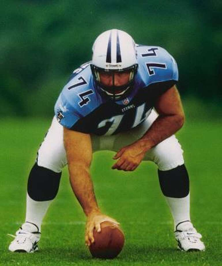 Bruce Matthews played every position on the offensive line during his 19-year pro career. Photo: AP