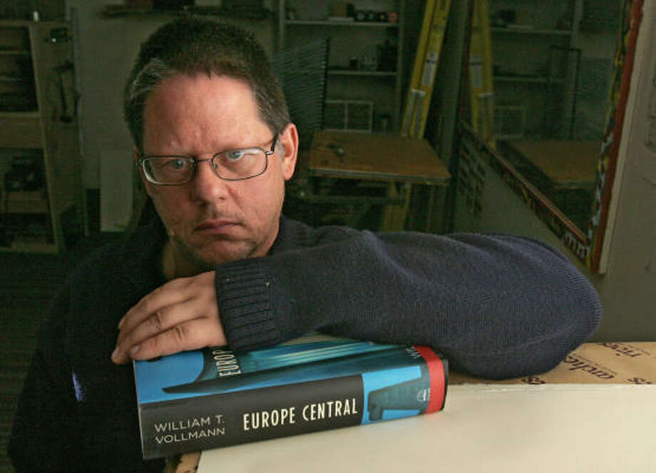 Author William T. Vollmann doesn't turn away from tough issues. Photo: RICH PEDRONCELLI, Associatd Press