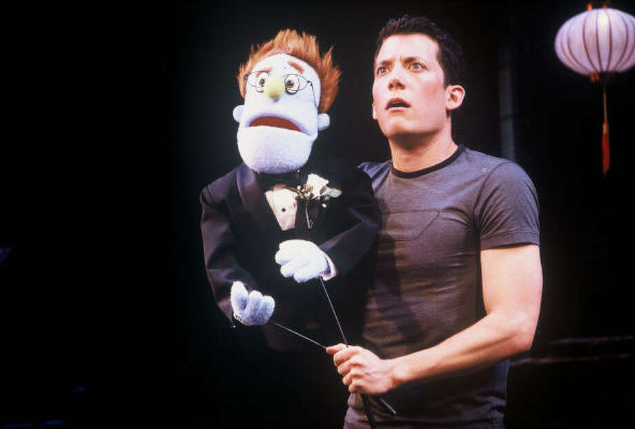 Avenue Q, an off-Broadway production that made it to Broadway, staged an upset by winning the 2004 Tony for best musical. Photo: Carol Rosegg