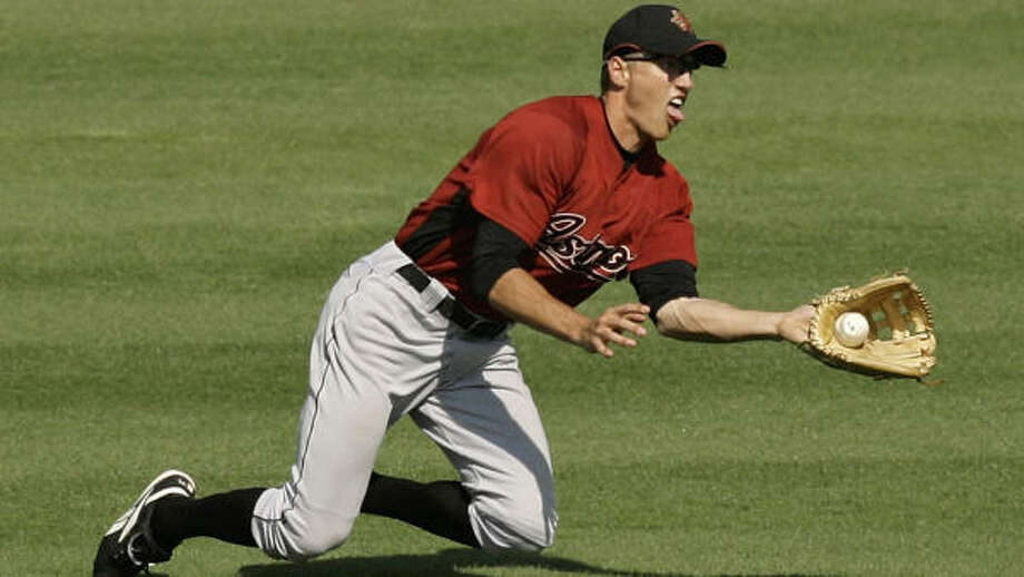 """Hunter Pence is not """"in the mix,"""" manager Phil Garner says. Photo: Kathy Willens, AP"""