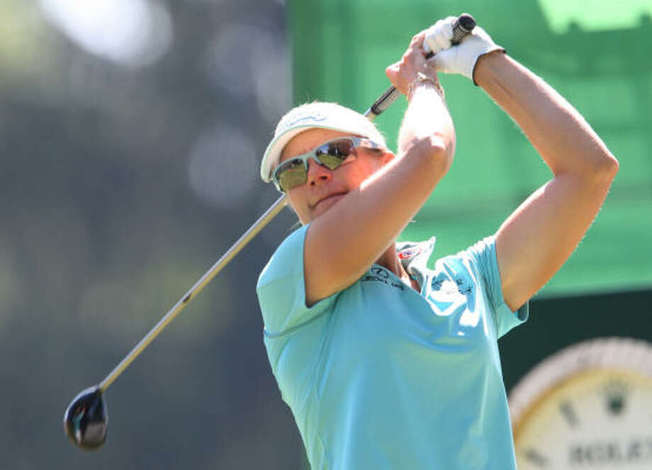 Annika Sorenstam said she'll enjoy every minute of her first pro competition at St. Andrews. Photo: CLAUDE PARIS, AP