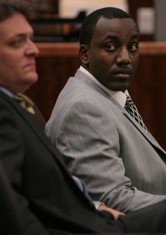 Michael Mbugua claimed self-defense in the slaying of Bruce Caldwell Jr. Photo: MAYRA BELTRÁN, Chronicle