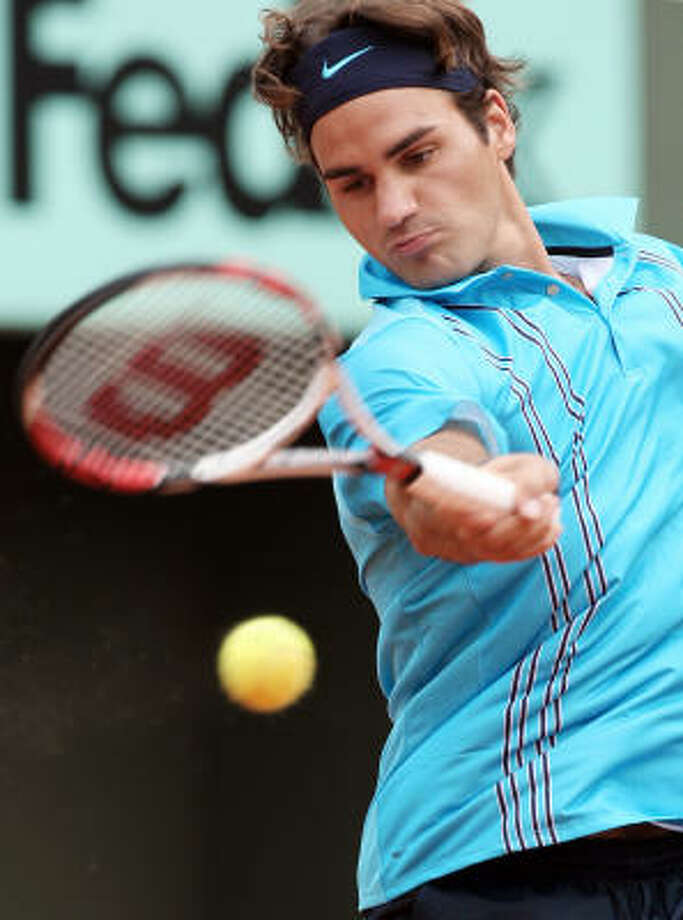 Top-ranked Roger Federer's quest for his first French Open title begins today at Roland Garros. Photo: JACQUES DEMARTHON, AFP/Getty Images