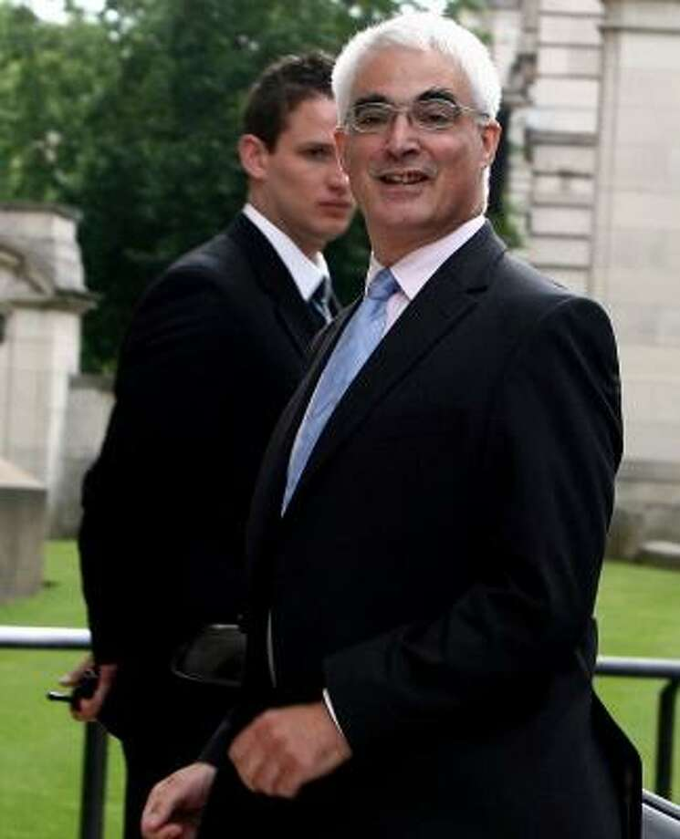 Like Brown, new Chancellor of the Exchequer Alistair Darling is a Scot. Photo: SIMON DAWSON, AP