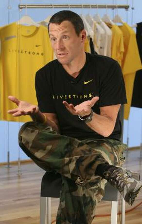 Lance Armstrong thinks Floyd Landis got a raw deal in being found guilty of doping. Photo: MARY ALTAFFER, ASSOCIATED PRESS