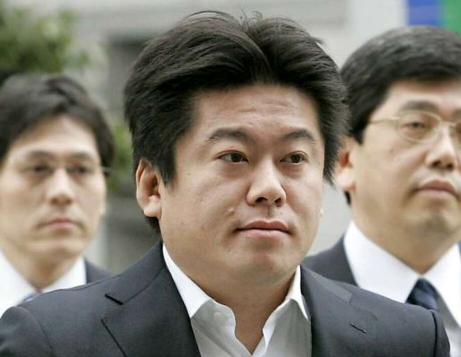 The guilty verdict for dot-com kingpin Takafumi Horie is seen as a message to wayward Japanese startups. Photo: TOMOHISA KATO, KYODO NEWS