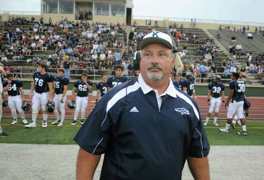 Kingwood head football coach Dougald McDougald Photo: Jerry Baker, Freelance / Freelance