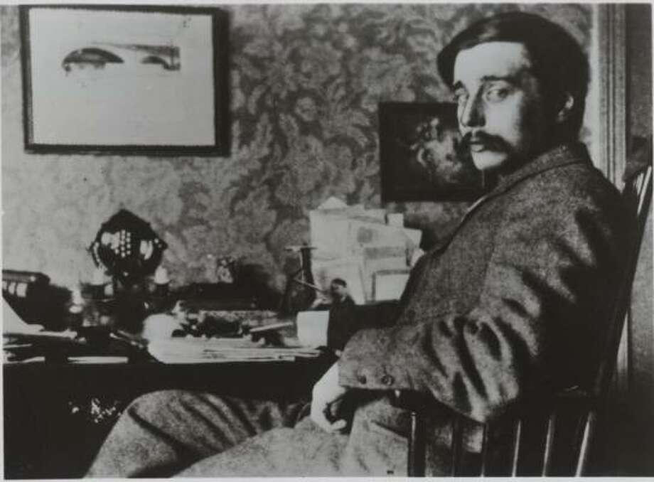 """H.G. Wells, shown at 30, conducted numerous affairs and once said that """"every bit of sexual impulse in me has expressed itself."""" Photo: SIMON & SCHUSTER"""