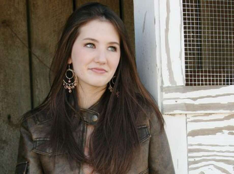 Katie Armiger's self-titled CD reaches shelves today. Photo: ANGELA O'HEERON