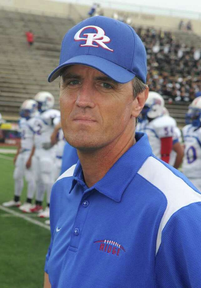 Oak Ridge head football coach Bob Barrett Photo: Jerry Baker, Freelance / Freelance