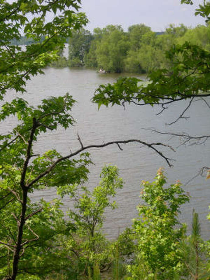 A view from the trail around Lake Wright Patman at Atlanta State Park. Photo: Eileen McClelland, Chronicle