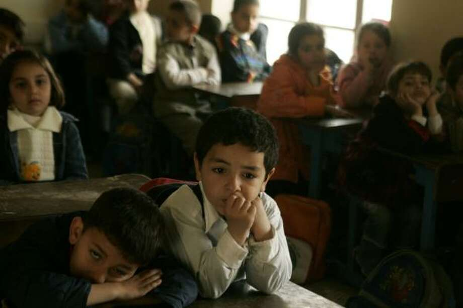 Many Iraqi children who have relocated to Kurdistan with their families have a hard time receiving an education. Photo: KATE BROOKS, FOR THE CHRONICLE