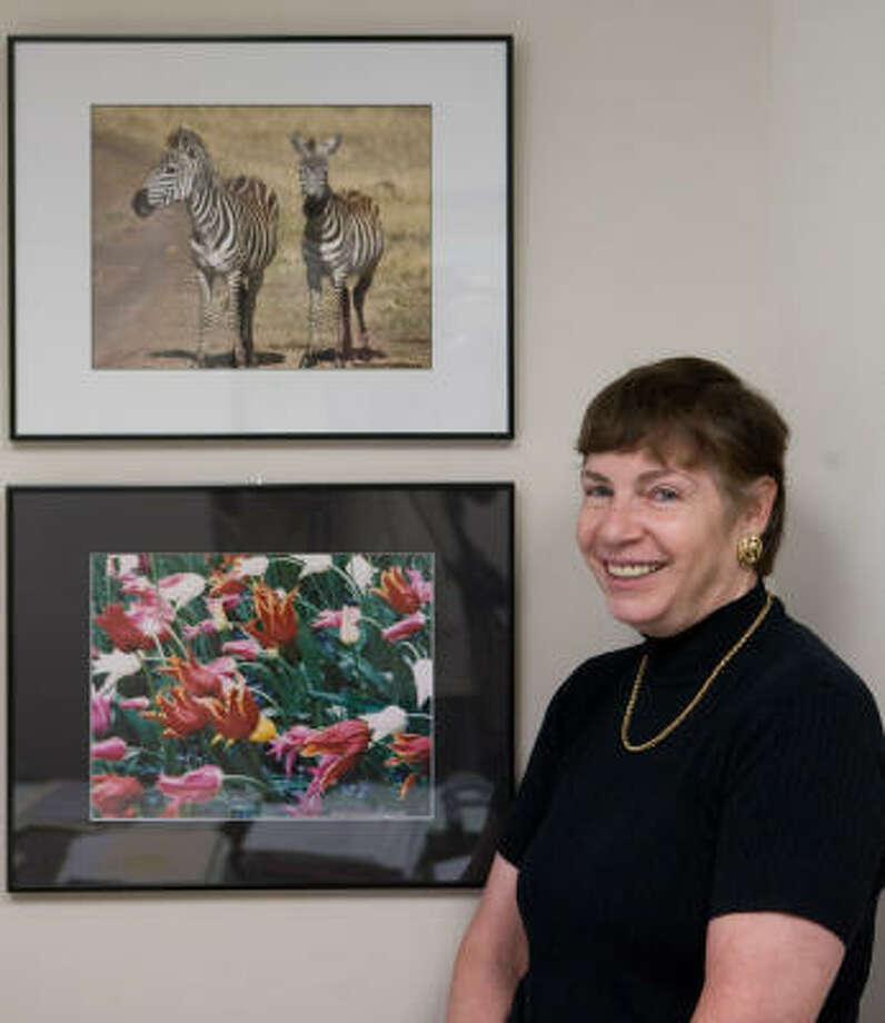 Area photographer Linda Samuels is one more than 300 artists whose work will be on display at the Bayou City Art Festival Downtown. Photo: R. Clayton McKee, For The Chronicle
