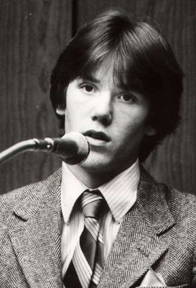 Steven Stayner told a jury in 1981 about his seven years in captivity. He would die, at age 24, in a motorcycle-car crash. Photo: ASSOCIATED PRESS FILE