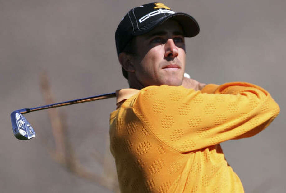 Geoff Ogilvy will defend his Accenture Match Play title tomorrow against Henrik Stenson. Photo: Andy Lyons, Getty Images