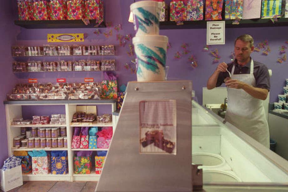 Inside The Chocolate Bar. Photo: Chronicle File