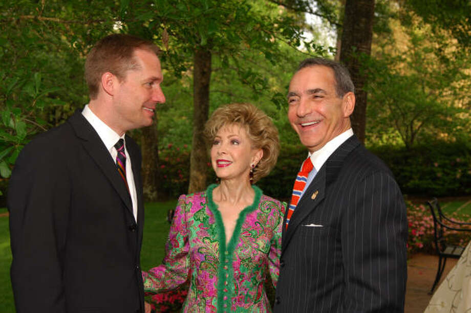 Paul Johnson, left, Margaret Williams and Charles Fieramosca. Photo: FULTON DAVENPORT, PWL STUDIO