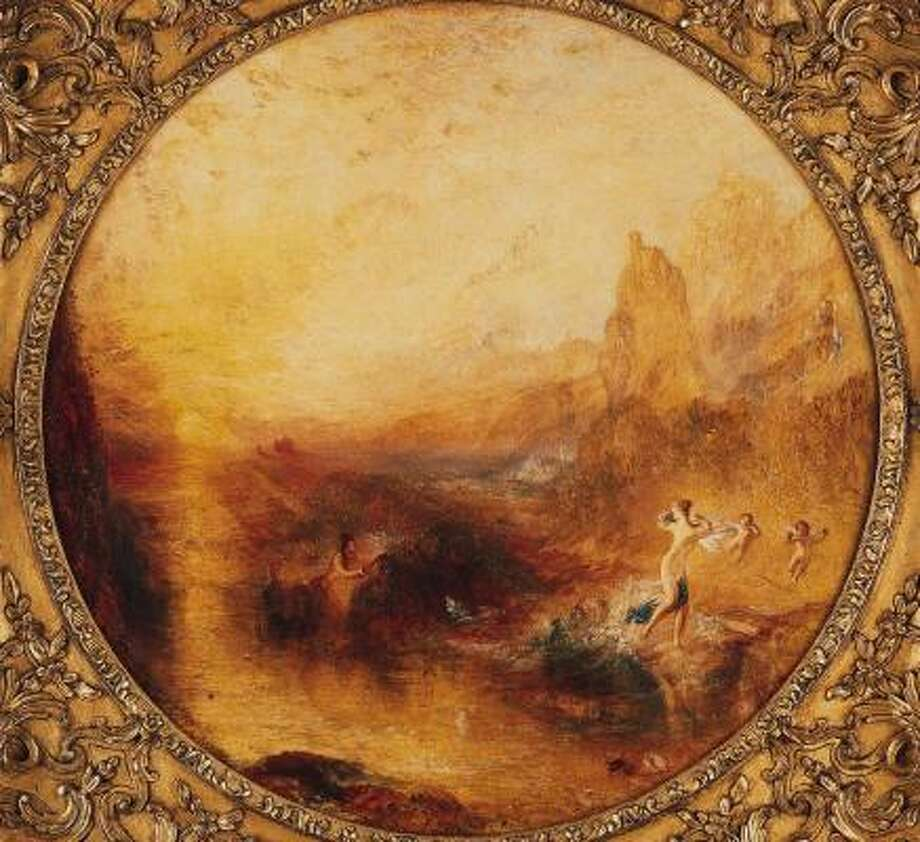 J.M.W. Turner's Glaucus and Scylla Photo: KIMBELL ART MUSEUM