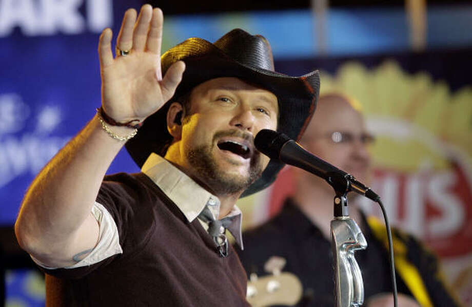 Tim McGraw is a headliner at the Big State Festival, which is to be held in College Station this October. Photo: Stuart Ramson, Associated Press