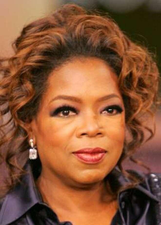 Oprah Winfrey Photo: George Burns, AP