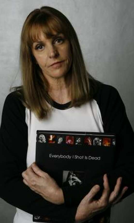 Deborah Chesher looks at the lives of rock stars in Everybody I Shot Is Dead. Photo: DAMIAN DOVARGANES, ASSOCIATED PRESS