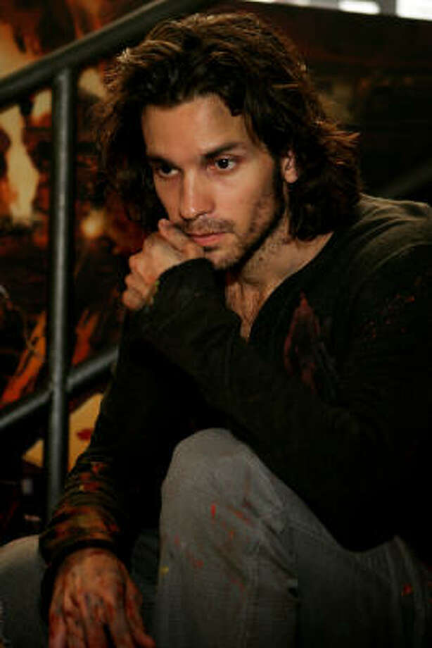 Santiago Cabrera has been acting for eight years, but he says not until Heroes has he been associated with something so huge. Photo: Trae Patton, NBC