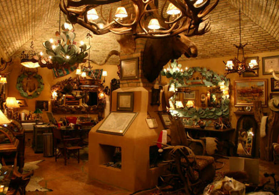 Trois Estate is crammed with interesting items for display and for sale. Photo: Trois Estate