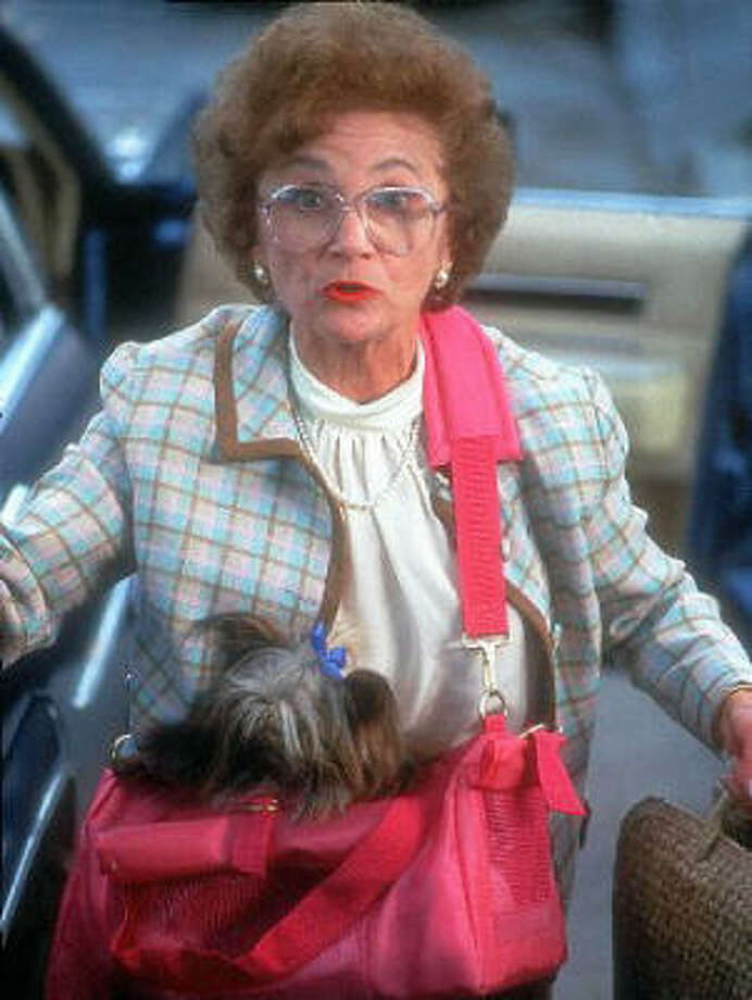 "Estelle Getty from the ""Golden Girls"" also has Alzheimer's.  Photo: Chronicle File"
